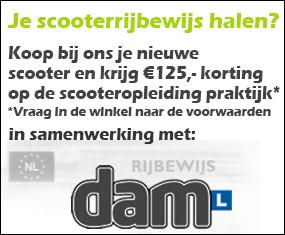 Scooterrijbewijs via DAM
